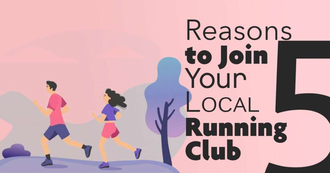 5 reasons to join your local running club